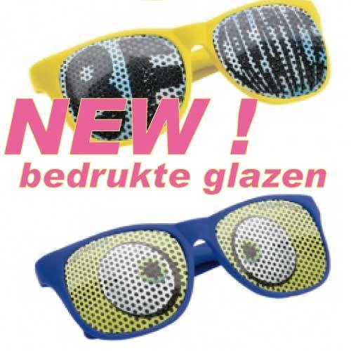 8ceb3bb8cac Bedrukte zonnebrillen, de juiste promotie!