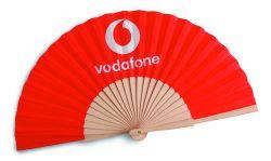 Spaanse waaier van Vodafone