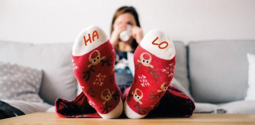 kerstsokken bedrukken