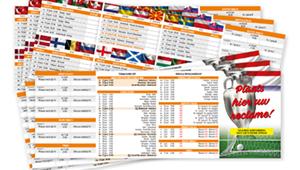 EK 2021 wedstrijdschema